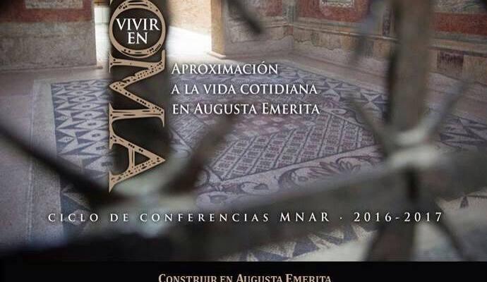 CONFERENCIA: CONSTRUIR EN AUGUSTA EMERITA, a cargo de Antonio Pizzo.