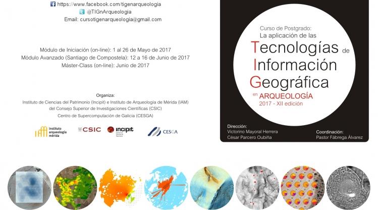 XII Curso de Postgrado: La Aplicación de las Tecnologías de Información Geográfica en Arqueología