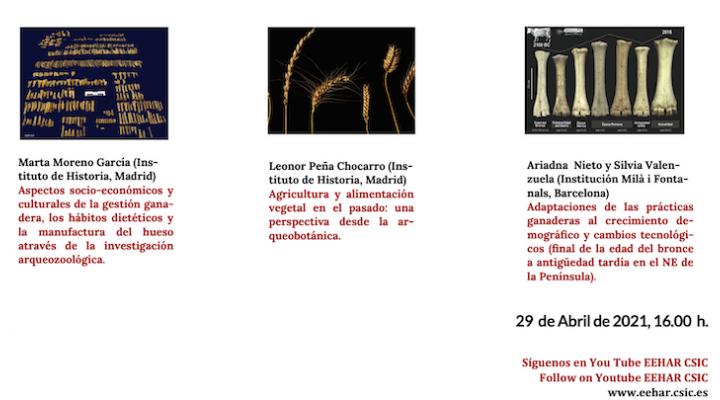 SEMINARIOS LA ARQUEOLOGÍA EN EL CSIC. NUEVA CITA 29 DE ABRIL.
