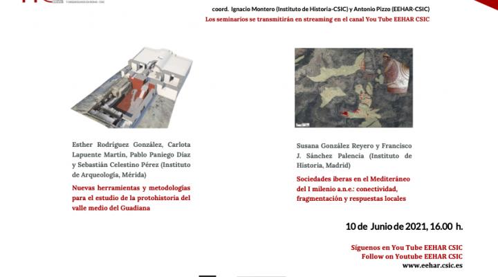 SEMINARIOS LA ARQUEOLOGÍA EN EL CSIC. NUEVA CITA 10 DE JUNIO.